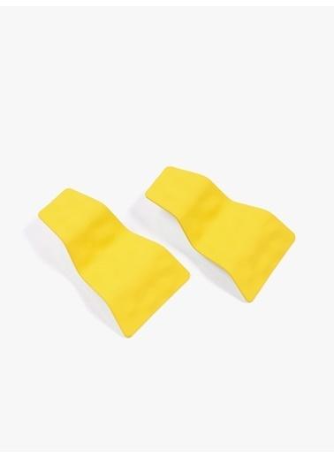Twist Küpe Sarı